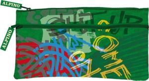 Penar simplu cu  2 fermoare, ALPINO Graffiti