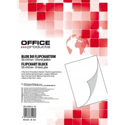 Rezerva hârtie pentru flipchart, 70g/mp, 58.5x81cm, 50coli/top, Office products - velina