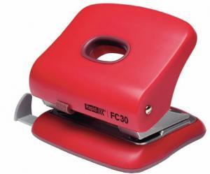 Perforator plastic RAPID FC30, 30 coli - rosu