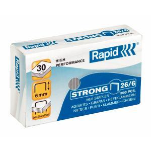 Capse RAPID Strong 26/6, 1000 buc/cutie