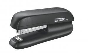 Mini-capsator plastic RAPID F5, 10 coli - negru