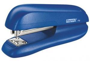 Capsator plastic RAPID F6, 20 coli - albastru