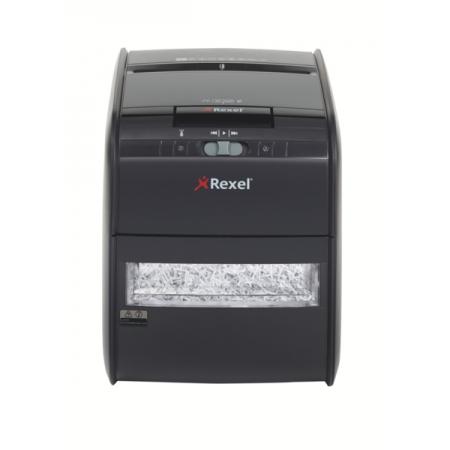 Distrugator Automat documente REXEL Auto+ 60X, 60 coli, P3, cross-cut (confeti)