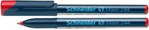 CD/DVD-marker SCHNEIDER Maxx 244, varf 0.7mm - rosu
