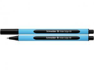 Pix SCHNEIDER Slider Edge XB, rubber grip, varf 1.4mm - scriere neagra