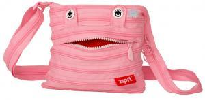 Geanta de umar ZIP..IT Monster Mini - roz deschis