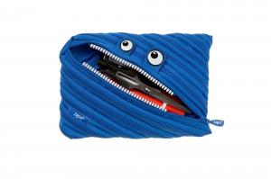 Penar cu fermoar, ZIPIT Monsters Jumbo - albastru royal