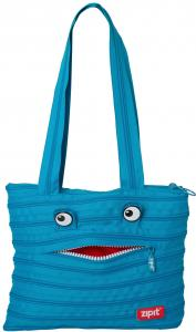 Geanta de umar ZIP..IT Monster Tote - turcoaz bleu0
