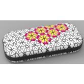 Penar cu fermoar, ZIP..IT Color In - Big Flowers - EAN 7290103197087