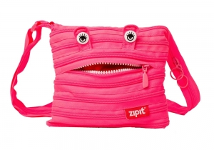 Geanta de umar ZIP..IT Monster Mini - roz deschis2