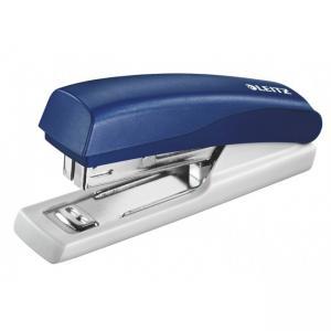 Capsator plastic, LEITZ 5517 Mini NeXXt Series, 10 coli - albastru