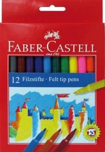 Carioci Faber-Castell - 12 culori