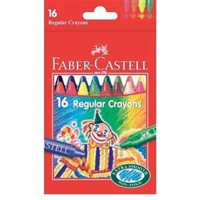 Creioane Cerate Clown Faber-Castell - 16 culori