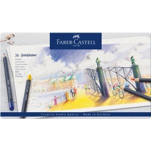 faber-castell creioane colorate Goldfaber  arta grafica