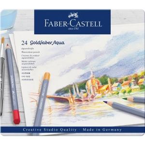 Creioane colorate Goldfaber Aquarelle Aqua Faber-Castell