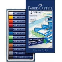 Creioane Ulei Pastel Faber-Castell 12 culori