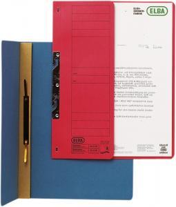 Dosar carton incopciat 1/2  ELBA - albastru