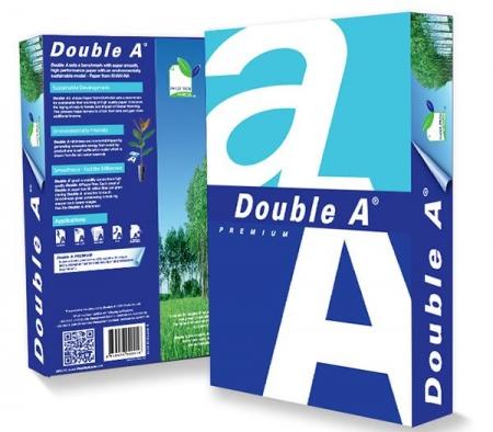 Hartie alba pentru copiator, A3, 80g/mp, 500coli/top, clasa A, Double A