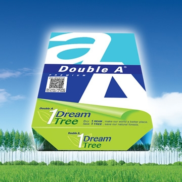 Hartie alba pentru copiator A4, 80g/mp, 500coli/top, clasa A, Double A