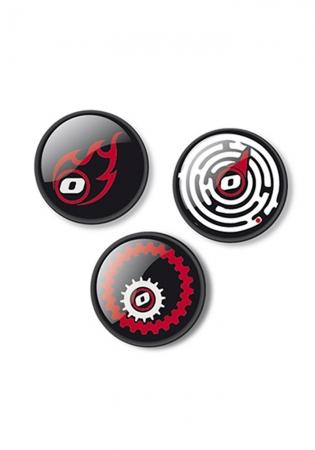 Insigne, 3buc/set, Roller NIKIDOM - Fire0
