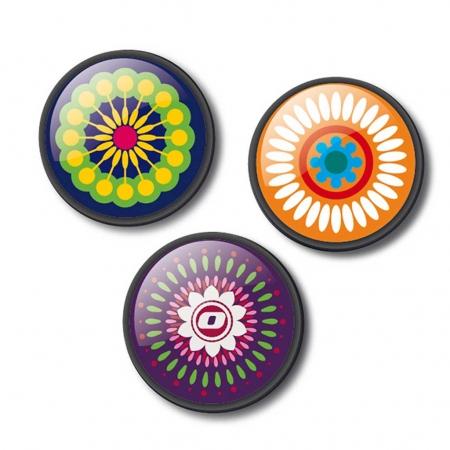 Insigne, 3buc/set, Roller NIKIDOM - Mandala0