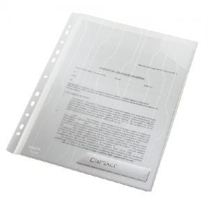 Mapa LEITZ Combi File, rigida, PP, A4, 200 mic, 3 buc/set - transparent