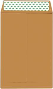 Plic C4 kraft siliconic ( 229 x 324 mm )