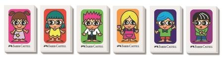 Radiera Creion Faber-Castell - friends