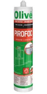 Silicon neutral rezistent la foc Olivé Pirofoc Silicone, alb, 600ml