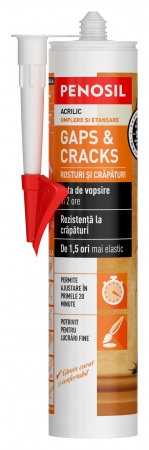 Silicon acrilic etanșant Penosil Gaps & Cracks, 280ml