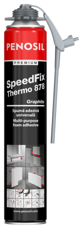 Spuma Adeziva Multifunctionala Premium SpeedFix Thermo 878 Graphite