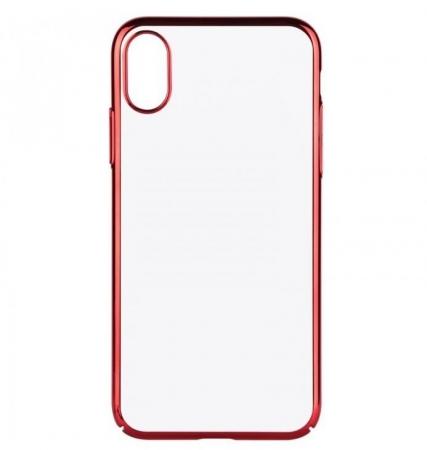 Husa Benks iPhone X Electroplated Rosu pentru iPhone X1