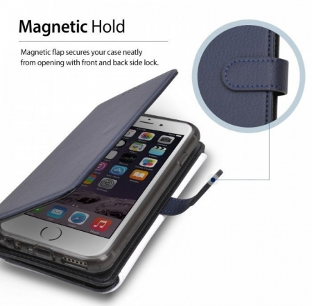 Husa Ringke WALLET NEGRU pentru  iPhone 6 / iPhone 6s1