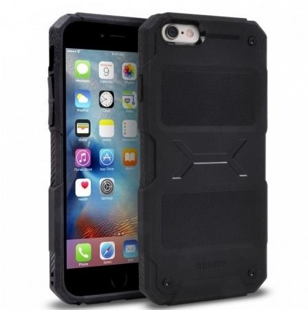 Husa Ringke REBEL BLACK + folie Ringke cadou pentru iPhone 6 Plus / 6s Plus0