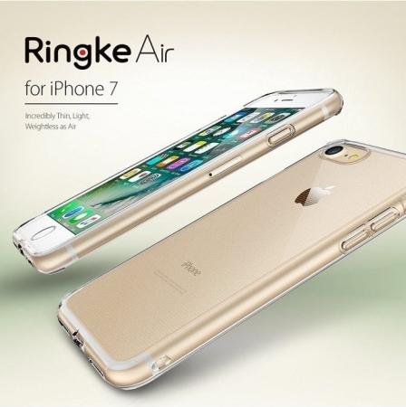 Husa Ringke Air SMOKE BLACK pentru  iPhone 7  iPhone 80