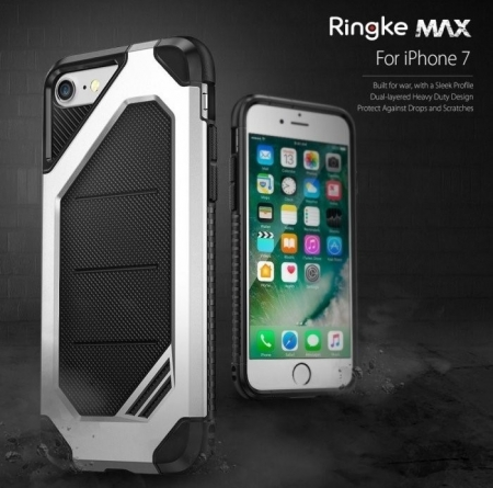 Husa  Ringke ARMOR MAX ICE SILVER pentru iPhone 7  iPhone 82