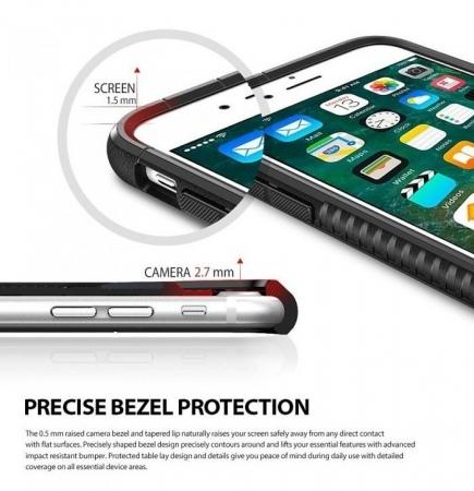 Husa  Ringke ARMOR MAX ICE SILVER pentru iPhone 7  iPhone 83