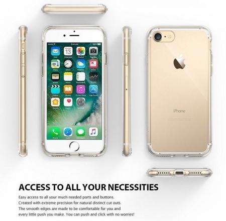Husa Ringke FUSION ROSE GOLD pentru  iPhone 7  iPhone 81