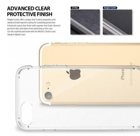 Husa Ringke FUSION ROSE GOLD pentru  iPhone 7  iPhone 82