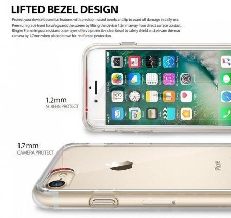 Husa Ringke FUSION ROSE GOLD pentru  iPhone 7  iPhone 83