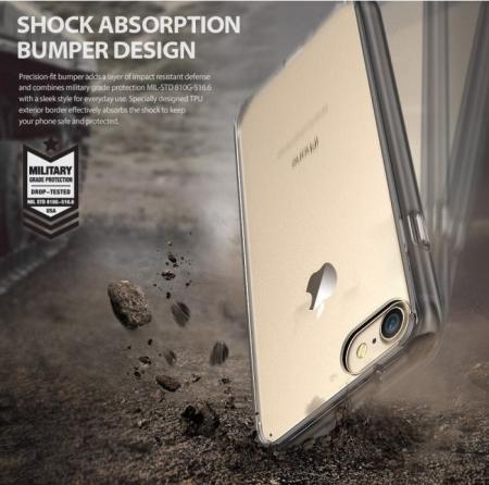 Husa Ringke FUSION ROSE GOLD pentru  iPhone 7  iPhone 84