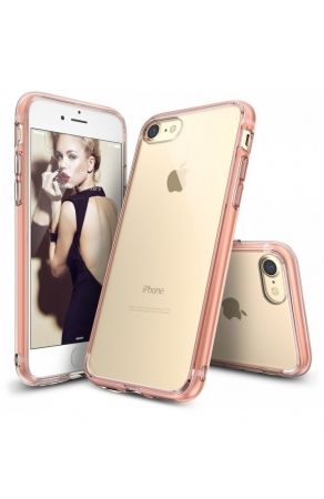 Husa Ringke FUSION ROSE GOLD pentru  iPhone 7  iPhone 86