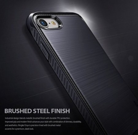 Husa Ringke ONYX MIST GRAY pentru iPhone 7  iPhone 85