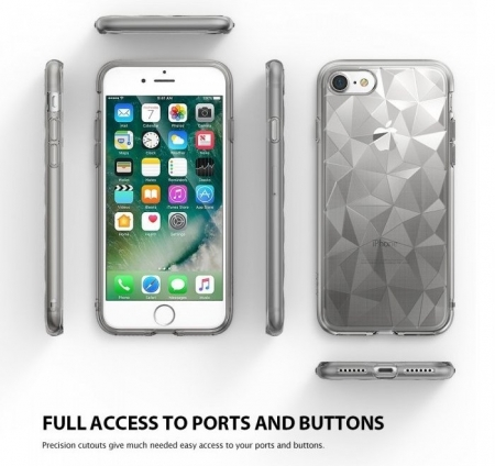 Husa  Ringke PRISM INK BLACK pentru iPhone 7  iPhone 81