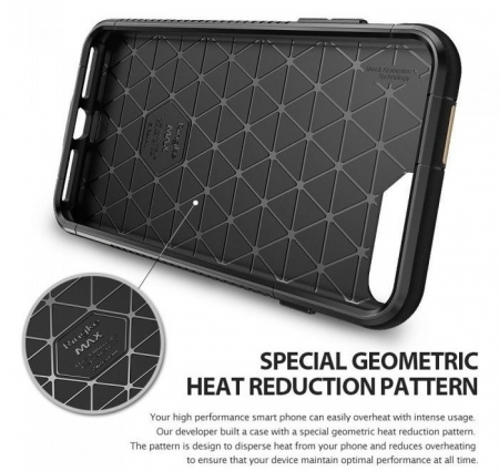 Husa Ringke ARMOR MAX NEGRU + BONUS folie protectie display Ringke pentru iPhone 7 Plus / iPhone 8 Plus5