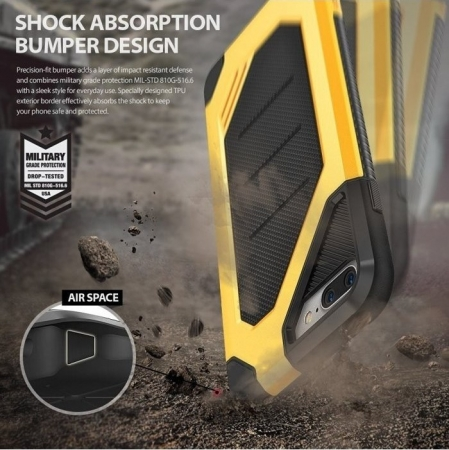 Husa Ringke ARMOR MAX NEGRU + BONUS folie protectie display Ringke pentru iPhone 7 Plus / iPhone 8 Plus6