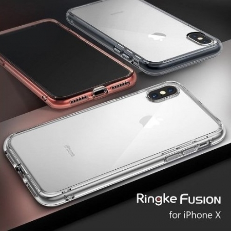 Husa Ringke Fusion Clear pentru iPhone X3