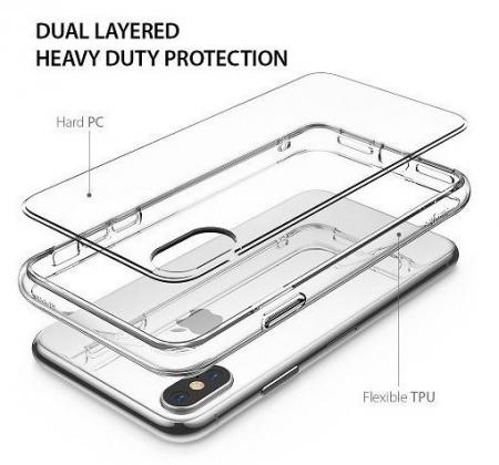 Husa Ringke Fusion Clear pentru iPhone X4