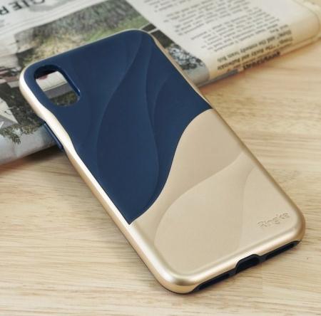 Husa Ringke Wave Marina Gold pentru iPhone X4