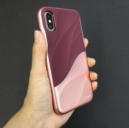 Husa Ringke Wave Rose Blush pentru iPhone X3